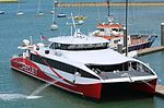 Red Jet 6 at East Cowes 30 June 2016.JPG