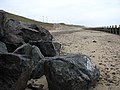 Redesigned section of beach - geograph.org.uk - 775626.jpg