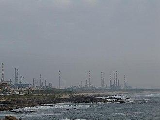 PSI-20 - Galp Energia refinery in Leça da Palmeira, near Porto.