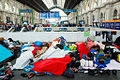 Refugees Budapest Keleti railway station 2015-09-04.jpg
