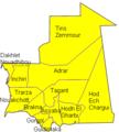 Regioni della Mauritania.PNG