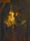 Rembrandt, De roerdompjager, 1639, Gemäldegalerie Alte Meister, Dresden.jpg