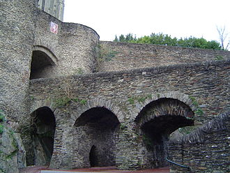 Saint-Lô - The main entrance to the town.