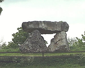 Cadamstown - Replica Megalith in Cadamstown
