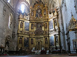 New Cathedral of Plasencia - Image: Retablo plasencia