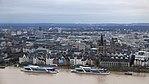 Rheinhochwasser 2018 in Köln KölnTriangel 11.jpg