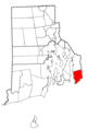 Rhode Island Municipalities Little Compton Highlighted.png
