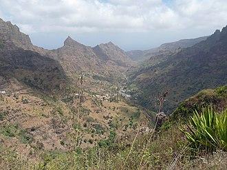 Ribeira Principal - The valley of Ribeira Principal