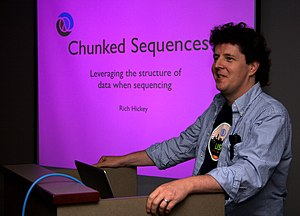 Clojure - Rich Hickey in San Francisco