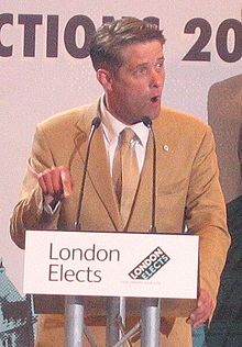 Richard Barnbrook BNP at mayoral election3.jpg