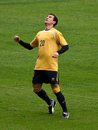 Richard Garcia - Garcia warming up for Australia
