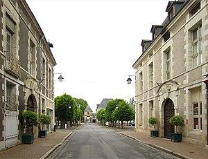 Richelieu, Indre-et-Loire - Grande Rue near Place des Religieuses