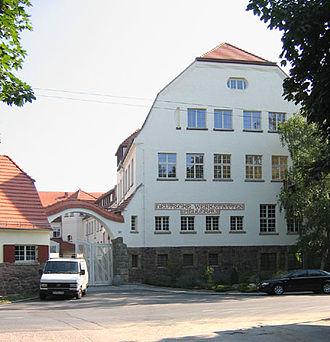 Richard Riemerschmid - Deutsche Werkstätten für Handwerkskunst, Hellerau