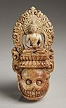 Tantric diadem ritual plaque in Buddhism