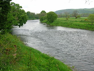 River Nith - The Nith at Ellisland Farm.