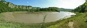 Wye Valley - Image: River Wye Lancat and Ban y Gore Nature Reserve