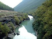 River in the south
