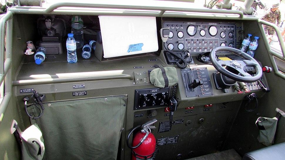 Riverine Patrol Boat Cockpit Console