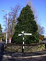 Road Sign, Gisburn Road - geograph.org.uk - 1577473.jpg