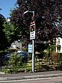 Road sign near Sherborne Railway Station - geograph.org.uk - 2019224.jpg