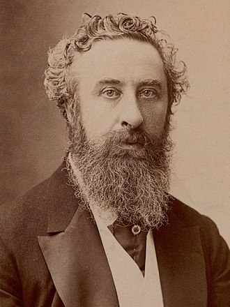 Robert Bulwer-Lytton, 1st Earl of Lytton - Earl of Lytton, photo by Nadar
