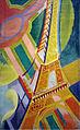 Robert Delaunay, 1926, Tour Eiffel, oil on canvas, 169 × 86 cm, Musée d'Art Moderne de la ville de Paris.jpg