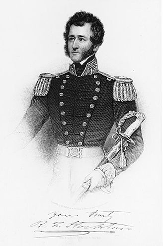 Robert F. Stockton - Commodore Robert F. Stockton