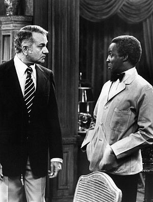 Robert Guillaume - As Benson in Soap, 1977.