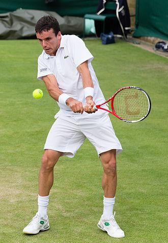 Roberto Bautista Agut - At the 2013 Wimbledon Championships