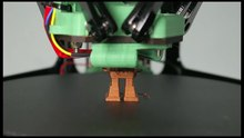 File:Robot 3D print timelapse on RepRapPro Fisher.webm