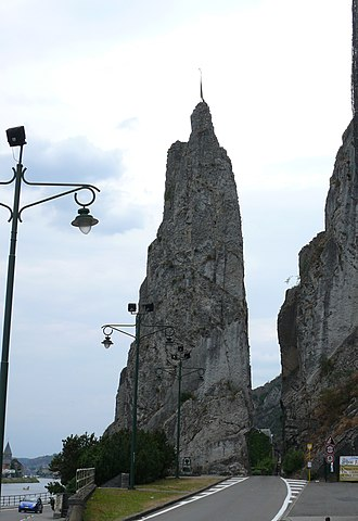 "The Four Sons of Aymon - The ""Bayard rock"" of Dinant."