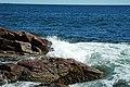 Rocky shore & waves (next to Thunder Hole, Mt. Desert Island, Maine, USA) 19.jpg