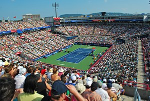 Canadian Open (tennis) - Stade Uniprix, the current venue for the events held in Montreal.