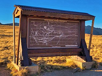 National Register of Historic Places listings in Grand County, Colorado - Image: Rollins Pass Sign