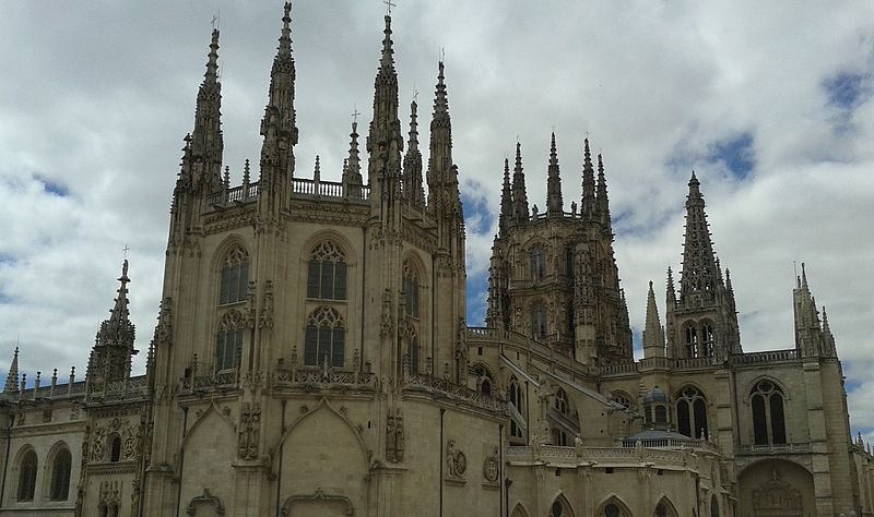 File:Roof of the Capilla del Condestable and Burgos Cathedral.jpg