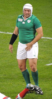 Rory Best Irish rugby union player