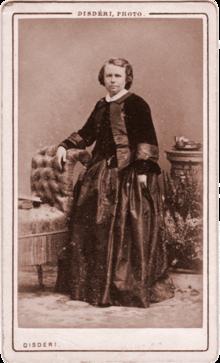 Portret Typu Carte De Visite Autorstwa Disdriego Ok 1858