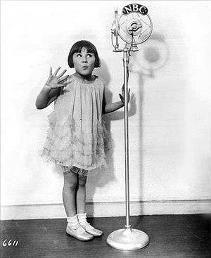 Rose Marie - Baby Rose Marie, NBC Radio star (1930)