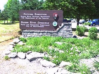 Old Fort Park and Golf Course - Image: Rosecrans entrance