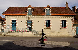 The town hall in Rosnay