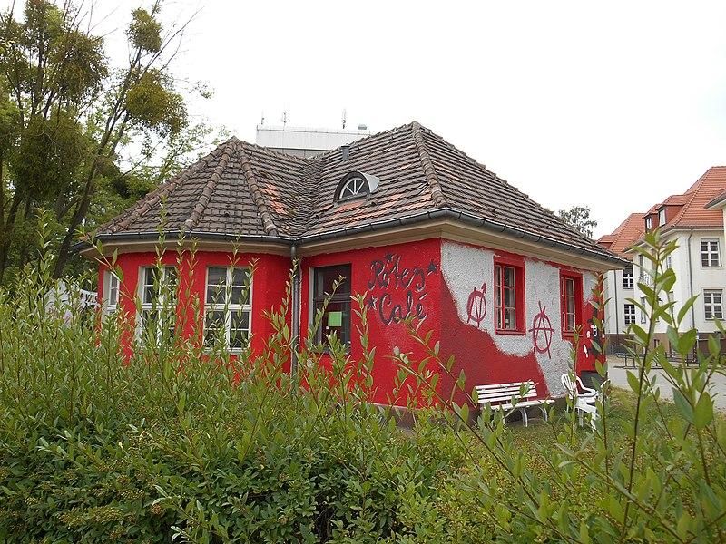 Fu Berlin Cafe Kauderwelsch