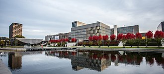 Erasmus University Rotterdam - Campus of the university