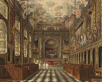 Hugh May - Royal Chapel, Windsor Castle, in 1819