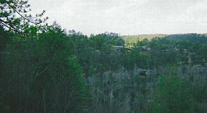 Red River Gorge - Red River Gorge has over 100 natural sandstone arches.