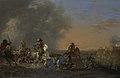 Ruitergevecht bij zonsondergang. Rijksmuseum SK-A-5.jpeg