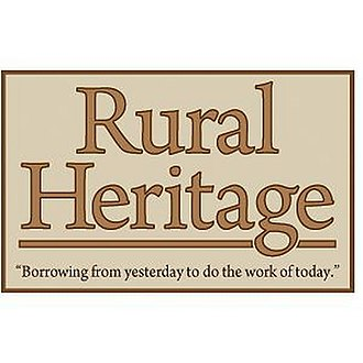 Rural Heritage - Image: Rural Heritage logo