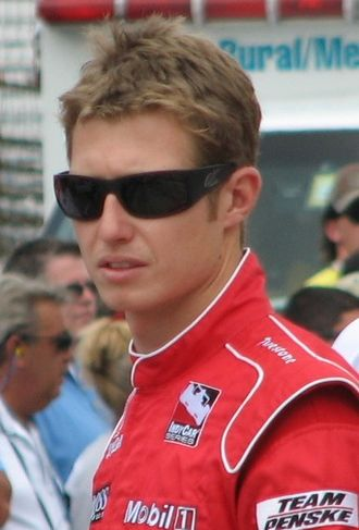 Ryan Briscoe - Briscoe at the Indianapolis Motor Speedway in May 2009.