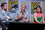Ryan Gosling, Harrison Ford & Ana de Armas (36067475311).jpg