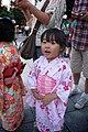 SAKURAKO wears a Japanese summer kimono. (7785586198).jpg