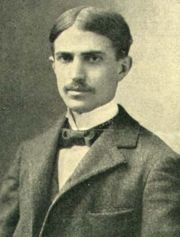 "Stephen Crane served as Captain of the University's baseball team before dropping out after a semester of study. He would later write the Great American Novel ""The Red Badge of Courage""."